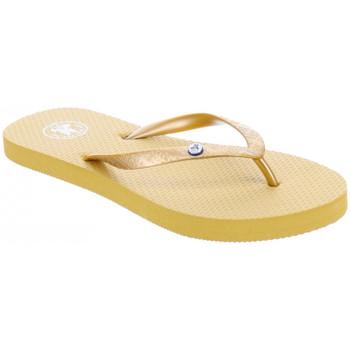 Schuhe Damen Zehensandalen JOTT Slim tong femme Gold