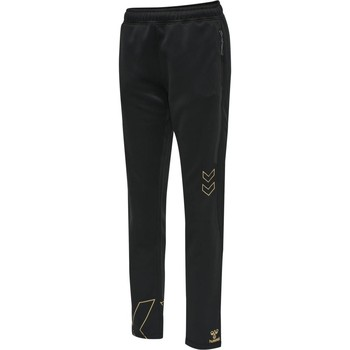 Kleidung Damen Jogginghosen Hummel Pantalon femme  hmlCIMA noir