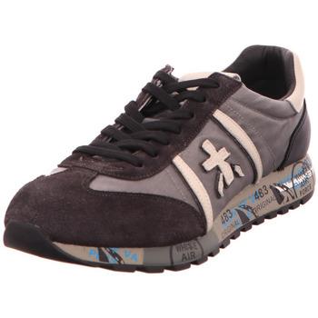 Schuhe Damen Sneaker Low Premiata Lucy grau