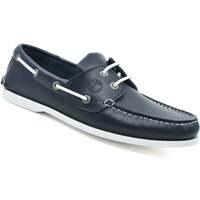 Schuhe Herren Bootsschuhe Seajure Bootsschuhe Watamu Marineblau