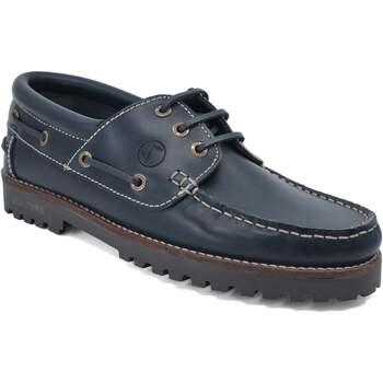 Schuhe Herren Bootsschuhe Seajure Bootsschuhe Lubmin Marineblau