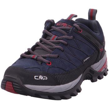 Schuhe Herren Wanderschuhe Cmp Rigel low Trekking shoes wp asphalt-syrah