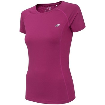 Kleidung Damen T-Shirts 4F TSDF002 Rosa