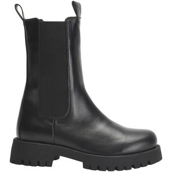 Schuhe Damen Boots Inuovo Stiefelette Schwarz