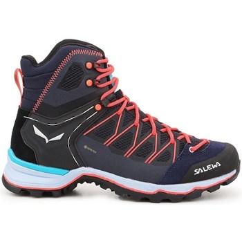 Schuhe Damen Wanderschuhe Salewa WS Mtn Trainer Lite Mid Gtx Dunkelblau