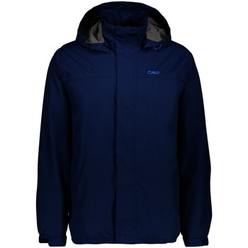 Kleidung Herren Windjacken Cmp Sport MAN JACKET BUTTONS HOOD 39X7367-M919 blau
