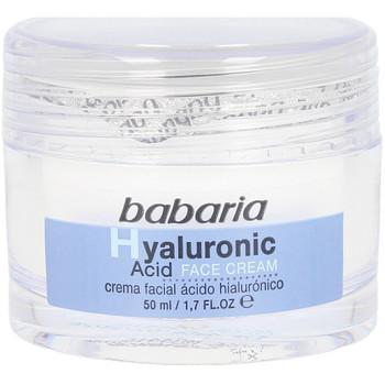 Beauty pflegende Körperlotion Babaria Hyaluronic Acid Crema Facial Ultrahidratante