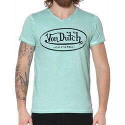 Kleidung Herren T-Shirts Von Dutch VD/TVC/RON Grün