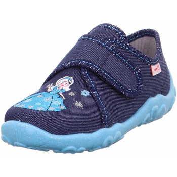 Schuhe Mädchen Hausschuhe Superfit 1 000258 8020 Bonny Mädchen Hausschuh Blau Blau
