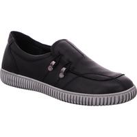 Schuhe Damen Slipper Gemini  schwarz