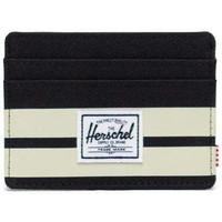 Taschen Portemonnaie Herschel Herschel Charlie RFID Black/Birch Stripe