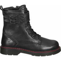 Schuhe Damen Boots Mustang Stiefelette Schwarz