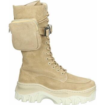 Schuhe Damen Low Boots Bronx Stiefel Cappuccino