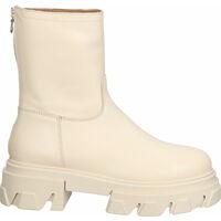 Schuhe Damen Low Boots Lazamani Stiefelette Beige