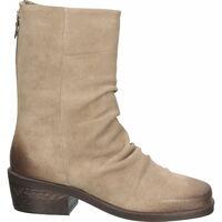 Schuhe Damen Klassische Stiefel Lazamani Stiefelette Taupe