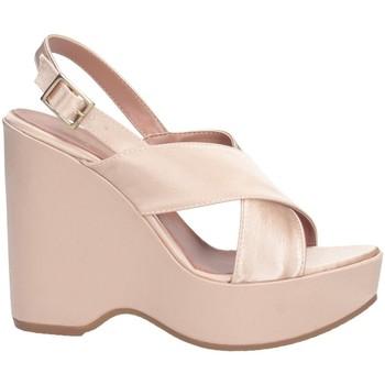 Schuhe Damen Sandalen / Sandaletten Bage Made In Italy 566 Sandalen Frau Rose