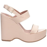 Schuhe Damen Sandalen / Sandaletten Bage Made In Italy 565 Sandalen Frau Rose