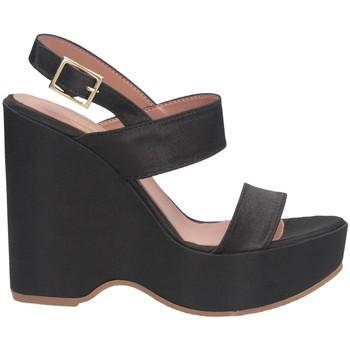 Schuhe Damen Sandalen / Sandaletten Bage Made In Italy 565 Sandalen Frau Schwarz
