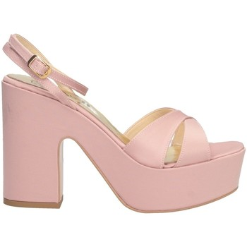 Schuhe Damen Sandalen / Sandaletten Bage Made In Italy 0411 Sandalen Frau Rose
