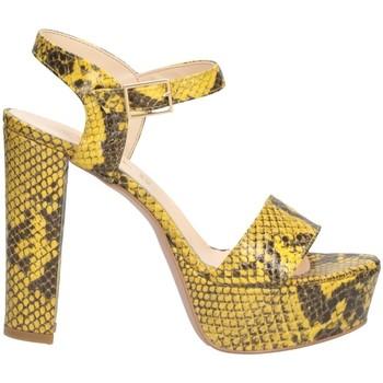 Schuhe Damen Sandalen / Sandaletten Bage Made In Italy 590010P Sandalen Frau Gelb