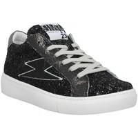 Schuhe Damen Sneaker Low Semerdjian 139095 Schwarz