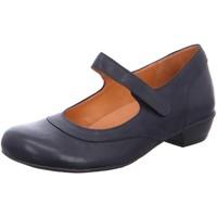 Schuhe Damen Pumps Brako Slipper Bem marino 6480 marino blau