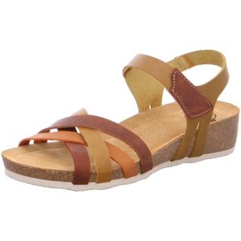 Schuhe Damen Sandalen / Sandaletten Brako Sandaletten Creta amarillo 202 amarillo braun