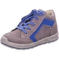 Schuhe Jungen Sneaker High Ricosta Schnuerschuhe Zino 74 2120500/454 grau