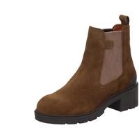 Schuhe Damen Low Boots Camel Active Stiefeletten Leaf Chelsea Boot 23153304/C45 braun