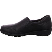 Schuhe Damen Slipper Caprice  schwarz