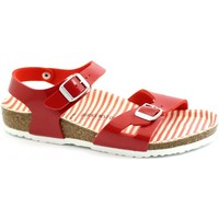 Schuhe Kinder Sandalen / Sandaletten Birkenstock BIR-RRR-1012720-SR Rosso