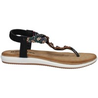 Schuhe Damen Sandalen / Sandaletten Tiglio 1331 SCHWARZ