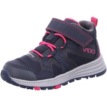 Schuhe Mädchen Sneaker High Vado Stiefel VADO_MID_KLETT_GTX 43309-MIKEY/111 blau