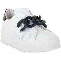 Schuhe Damen Sneaker Low At Go GO 4693 GALAXY BIANCO Bianco
