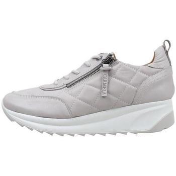 Schuhe Damen Sneaker Low Carmela  Grau