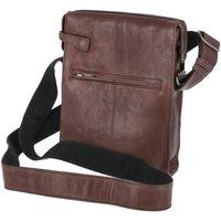 Taschen Damen Umhängetaschen Voi Leather Design Mode Accessoires 25006 BR braun