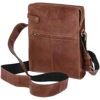 Taschen Damen Umhängetaschen Voi Leather Design Mode Accessoires 25006 COGNAC braun