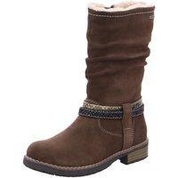 Schuhe Mädchen Schneestiefel Salamander Stiefel LIA-TEX,BUNGEE 33-17026-44 braun