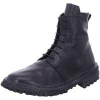Schuhe Damen Boots Moma Stiefeletten Tronchetto donna 1BW176-BT Nero schwarz