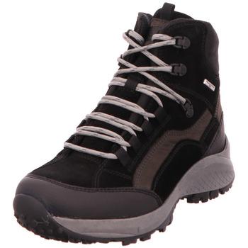 Schuhe Damen Wanderschuhe Waldläufer  schwarz