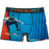 Unterwäsche Herren Boxer Freegun FGP96/1/BM/SKA Blau