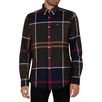 Kleidung Herren Langärmelige Hemden Barbour Dunoon Tailliertes Hemd mehrfarbig