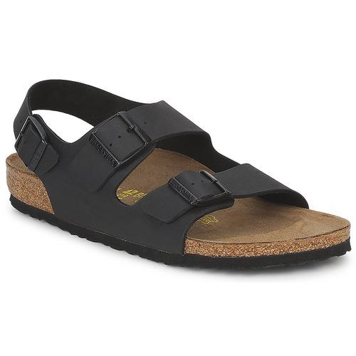 Birkenstock MILANO Schwarz  Schuhe Sandalen / Sandaletten Herren 63,99