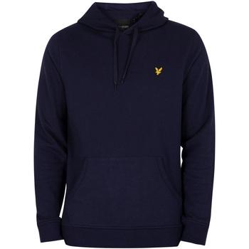 Kleidung Herren Sweatshirts Lyle & Scott Logo Pullover Hoodie blau