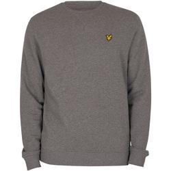 Kleidung Herren Pullover Lyle & Scott Logo-Sweatshirt grau