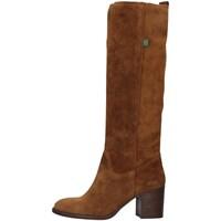 Schuhe Damen Klassische Stiefel Dakota Boots DKT8 BRAUN