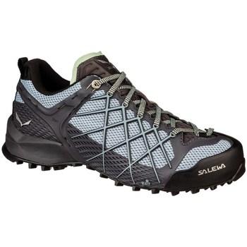 Schuhe Damen Wanderschuhe Salewa WS Wildfire Schwarz