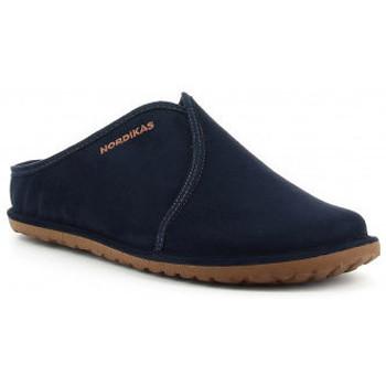 Schuhe Herren Hausschuhe Nordikas 1285 bleu