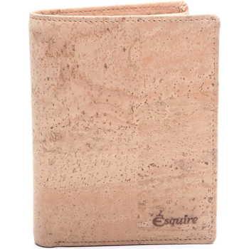Taschen Geldbeutel Esquire Geldbörse KORK natur 05