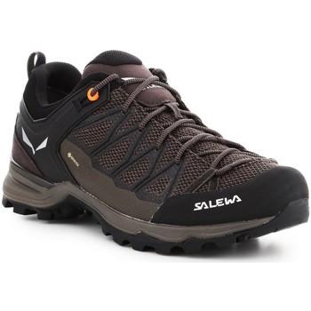 Schuhe Herren Wanderschuhe Salewa Mtn Trainer Lite GTX 61361-7512 braun